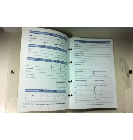 Classeur Agenda - Format 16x24 cm