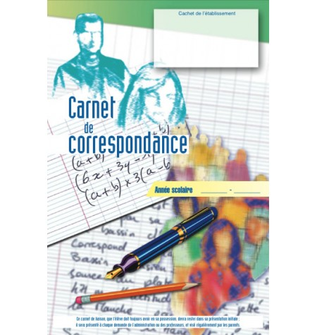 Carnet de correspondance Standard